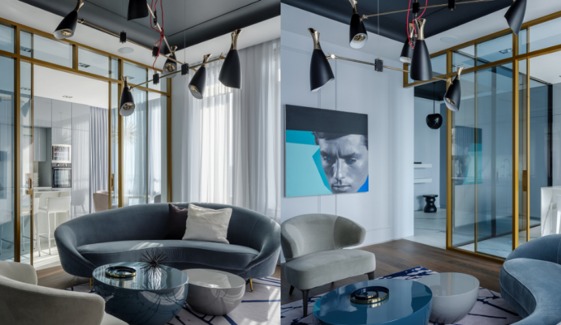 get inside this modern blue apartment Get Inside This Modern Blue Apartment in Russia Get Inside This Modern Blue Apartment 5
